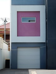 Living on a Garage (mikecogh) Tags: glenelg box cubist modern architecture shed garage