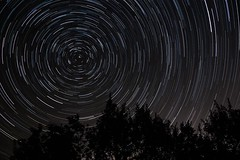 Circum (Olivier Dégun) Tags: circulum circulumpolaire canon eos700d 1585isusm poselongue filé france etoiles ciel nuit nocturne lightroom