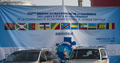 8th Extraordinary session of Economic Community of Central African States (ECCAS)   Libreville, 29 November 2016 (Paul Kagame) Tags: kagame jeannette rwanda gabon ali bongo ondimba