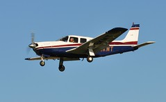 G-BKMT (goweravig) Tags: gbkmt piper saratoga resident aircraft swansea wales uk swanseaairport pa32r301