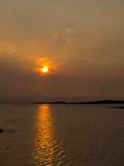 Kveldssol sett fra Bremneset. (2BB1 Media) Tags: frya bremneset eveningsun hav kveldssol outdoor sea sj sol solnedgang sun utendrs