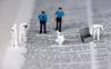 We're looking at murder... (John G Briggs) Tags: preiser miniature figures little people csi investigators crime scene looking murder nikon micro 105mm