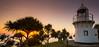 Fingal Head Lighthouse (kylieschmidt1) Tags: fingal heads lighthouse sunrise pandanus trees coastline landscape