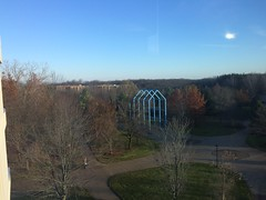 Transformational Link by Gary Kulak in the Woods GVSU (stevendepolo) Tags: transformational link by gary kulak woods gvsu
