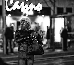 City life / Spui / The Hague (zilverbat.) Tags: mensen streetphotography bw streetcandid citylife blackwhitephotos urban straatfotografie scenery nightphotography nightshot dutch denhaag thehague candidphotography streetshot straatfotograaf zilverbat woman streetscene people portrait portret photography peopleinthecity urbanvibes urbanlife blackandwhite blackwhite monochrome mono blanco noir black innercity canon city town timelife thenetherlands bokeh binnenstad stedelijk fashion spui