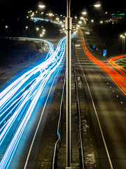 Night Trafic (Petri Lammi) Tags: trafic lights longexposure