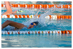 The winner is... (Pap y pelaro) Tags: competition water blue race swimmer sport young athlete pool energy action female