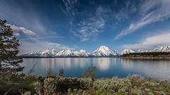 Grand Teton (Erik Kok) Tags: grandteton grandtetons jacksonlake mountainrange nationalpark signalmountaincampground usa lake nature outdoor panorama snowcapped