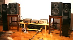 ElectroVoice Sentry 100a (ozean reefs) Tags: electrovoice sentry 100a studio monitors stereo hifi audio audiophile teac reference 500 ah500 pdh500 rh500 yamaha p1600 power amp pro nht supertwo made in usa vintage listening space