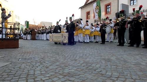 Bergparade in Zwickau 2016 - Bergzeremoniell auf dem Domhof