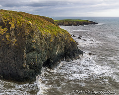 Copper Coast (Rustyoldtown) Tags: ocean ireland sea irish cliff landscape rocks waves cliffs cave waterford cowaterford coppercoast rustyoldtown slta65