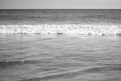crave the beach (checkers81) Tags: blackandwhite beach water beaches