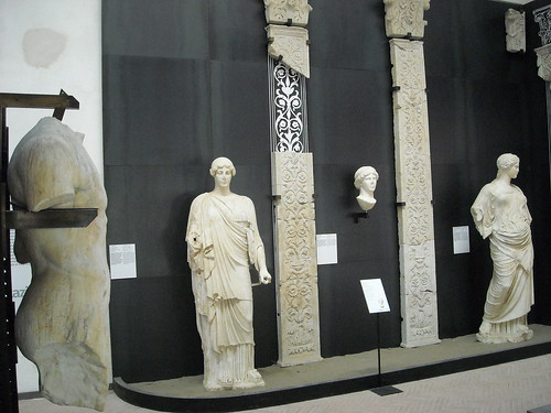 Statues from Pozzuoli/Naples - Archaeological Museum of the Castle of Baia/Naples