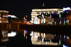 (stiqqo) Tags: city light motion night river moscow
