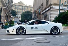 Ferrari 430 Scuderia by DMC (piolew) Tags: white by top ferrari monaco carlo monte marques scuderia dmc 430 2013 worldcars tm13