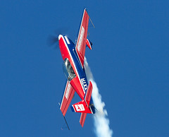 Extra EA300L (Bernie Condon) Tags: plane sussex flying display aircraft aviation planes rafa extra shoreham aerobatic 2013 extraea300l