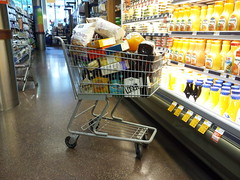 Full cart at Whole Foods (SchuminWeb) Tags: street food orange west beer fruits june metal fruit shopping circle foods milk dc washington wire nw northwest wine ben market juice trolley district web north beverage columbia case chips whole potato drinks alcohol chip p boxes juices refrigerator cart grocery logan alcoholic buggy carts groceries beverages crackers buggies tropicana trolleys refrigerated 2013 schumin schuminweb