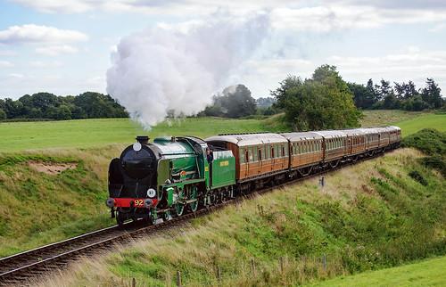 Severn Valley Schooldays (geoffspages) Tags: railway steam schools cheltenham severnvalley southernrailway svr
