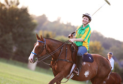 Polo (miss_n_arrow) Tags: horse girl sport ball pony mallet polo equine