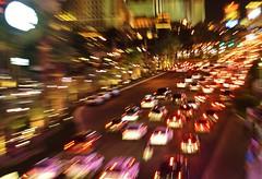 The Vegas Strip what a blur