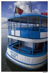 Mira Sado - Olhão (AurelioZen) Tags: portugal europe algarve woodenboat olhão sotavento passengerferry canonefs1785isusm mirasado mirasadoferry vintagewoodenferry