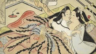 日本春宫画碰撞西方观念