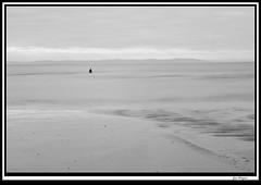 another_lexp4 (The_Jon_M) Tags: uk november sea england urban bw irish beach water liverpool river long exposure place another antony gormley crosby antonygormley merseyside novemeber irishsea sefton longexp anotherplace rivermersey crosbybeach 2013 blundellsands monovember