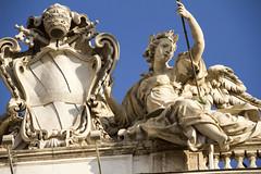 [4035] Palazzo della Consulta (storvandre) Tags: italy rome roma statue arte arts palazzo quirinale consulta scultura storia storvandre