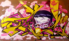 EVIL_KID 2 (SRCARAMELOS) Tags: new urban inca graffiti spain mural paint colours spray urbanart alicante wc satan cans sez graff eds nuevo envoy candyman caramelos cain enviado 2013 novedad