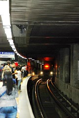 Jabaquara final da linha azul Metr So Paulo. (Manoel Lzaro) Tags: azul final da paulo so metr linha