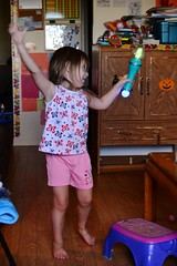 Rose and Her Magic Moves Wand (Vegan Butterfly) Tags: birthday playing fun toy kid child play exercise wand magic gift present moves