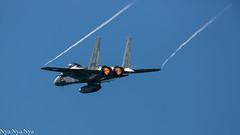 Vapour (Nya.Nya.Nya) Tags: sky japan canon airplane eagle airshow 5d airbase f15 ef500 jasdf nyutabaru markⅲ