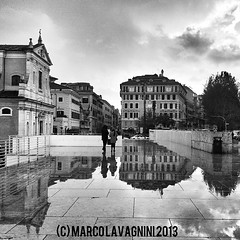 December 17, 2013 at 08:10PM (Follow the New M) Tags: reflection rain landscapes silouette umbrellas riflessi arapacis mlphotography