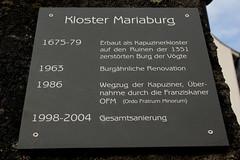 Franziskaner - Kloster Mariaburg ( Baujahr 1675 - 1679 ) in Nfels im Kanton Glarus in der Schweiz (chrchr_75) Tags: schweiz switzerland suisse suiza swiss monastery sua christoph dezember svizzera monasterio klooster monastre sveits monastero glarus mosteiro sviss zwitserland sveitsi suissa chrigu szwajcaria   1312   2013 klasztor luostari  chrchr kantonglarus hurni chrchr75 chriguhurni chriguhurnibluemailch albumklosterderschweiz monaejo mhainistir dezember2013 hurni131218