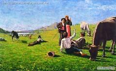 Giulio Cesare Prati Cantanti al verde 1890 Mart