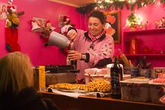 Warme chocolademelk op de Kerstmarkt Zutphen