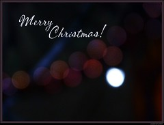 Merry Christmas! (Jasmin's Art) Tags: christmas xmas weihnachten bokeh frohe