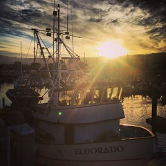 Solid day of exploring Monterey. Back to the cold & snow tomorrow. (nl_photo) Tags: california square boat monterey fishing squareformat wharf mayfair iphoneography instagramapp