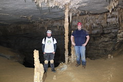 Cavers in Totem Gallery (wrcochran) Tags: exploring tag alabama caves limestone caving karst speleo pothole spelunking nss caveformations scci tumblingrock