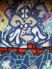Jugendraum / 3 (micky the pixel) Tags: streetart graffiti schweiz switzerland tag zrich altstetten jugendraum bachwiesen
