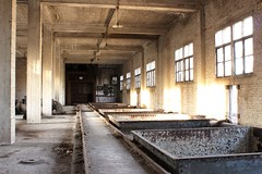 Waterzuivering (AnotherStepAway) Tags: urban abandoned stair factory decay empty urbanexploration rails machines exploration ue urbex
