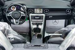 Mercedes SLK 350 BE AMG - Gris Indio