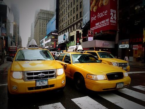 Taxis, New York, USA