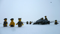 Not this story again (Rebla) Tags: winter cold outside this lego wwii story again ww2 british carrier loyd not