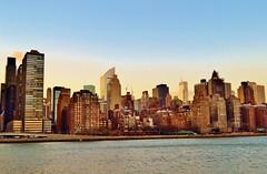 Across Roosevelt Island, 01.19.14 (gigi_nyc) Tags: nyc newyorkcity winter sunset manhattan eastriver rooseveltisland nycskyline