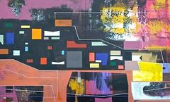 Jim Harris: Lafayette and Grand (Jim Harris: Artist.) Tags: abstract art geometric painting tokyo james paint artist arte panel contemporaryart jim  nippon  harris tableau