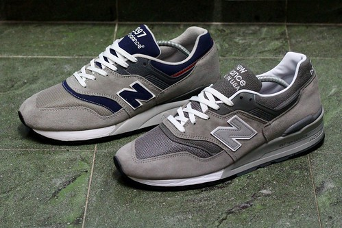 online store 02668 c4a72 New Balance 997 HWB vs 997 GY - a photo on Flickriver