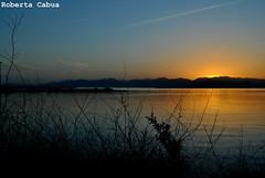 (Roberta Cabua) Tags: tramonto mare porto sole cagliari paesaggio