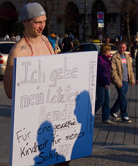 Nude Protest. (AFIK  BERLIN) Tags: berlin nude protest chemnitz meinletzteshemd