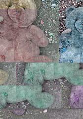 bear (Rafael Parrsie) Tags: bear oso montage montaje glitch parr